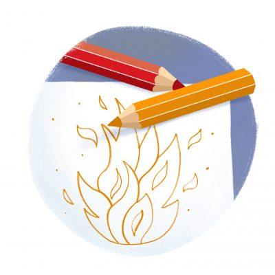 Praskanie ohňa